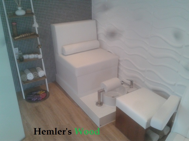 Spa lounge meubel. Pedicure 4 you Maastricht.
